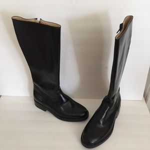 Vintage Motor Cowboy black doc marten esq boots